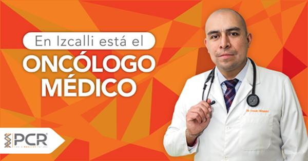 Doctor Osvaldo Hernández Flores, médico oncólogo